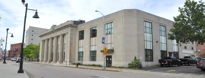 Building at 34 School Street.